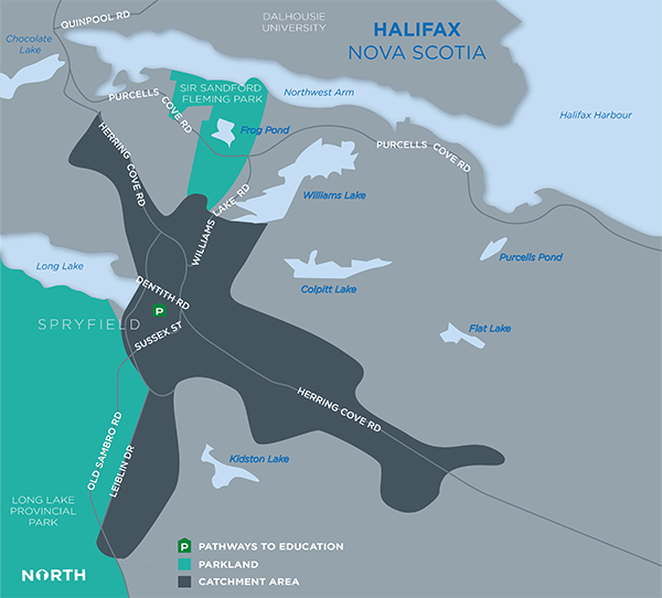 Catchment Area - Halifax